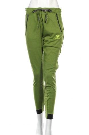 Дамско спортно долнище Erima, Размер M, Цвят Зелен, 60% памук, 40% полиестер, Цена 42,48лв.