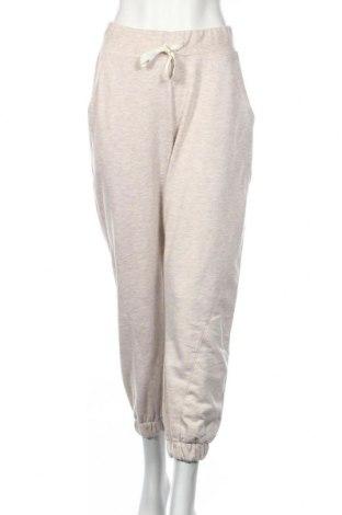 Pantaloni trening de femei Michelle Keegan, Mărime XL, Culoare Bej, 57% poliester, 43% bumbac, Preț 73,89 Lei