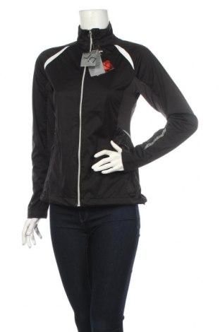 Γυναικεία αθλητική ζακέτα James & Nicholson, Μέγεθος S, Χρώμα Μαύρο, 100% πολυεστέρας, Τιμή 20,32€