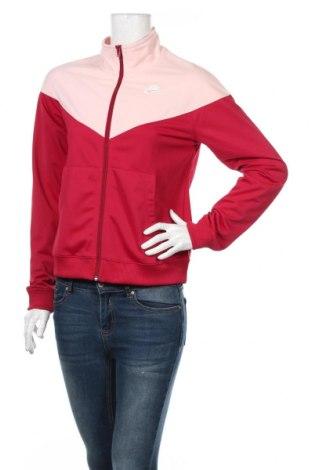 Bluză trening de femei Nike, Mărime S, Culoare Roz, Poliester, Preț 174,32 Lei