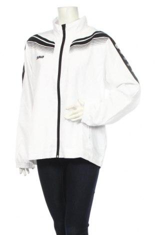 Дамско спортно яке Jako, Размер XL, Цвят Бял, Полиестер, Цена 35,40лв.
