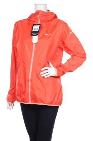 Дамско спортно яке Salewa, Размер L, Цвят Оранжев, 100% полиамид, Цена 111,75лв.