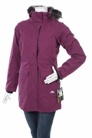 Дамско спортно яке Trespass, Размер XXS, Цвят Лилав, 77% памук, 23% полиамид, Цена 117,12лв.