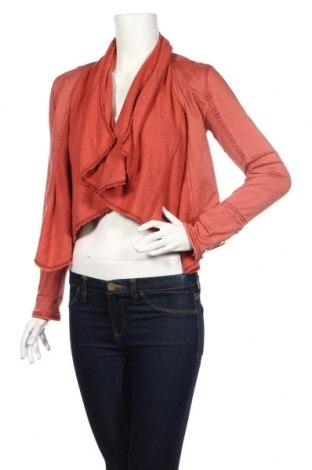 Dámska bunda  Abercrombie & Fitch, Veľkosť S, Farba Ružová, Bavlna, polyester, elastan, Cena  26,83€
