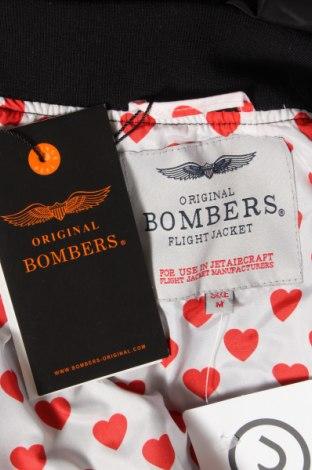 Дамско яке Bombers, Размер M, Цвят Черен, 100% полиестер, Цена 68,70лв.