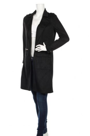 Palton de femei River Island, Mărime S, Culoare Negru, Poliester, Preț 181,89 Lei