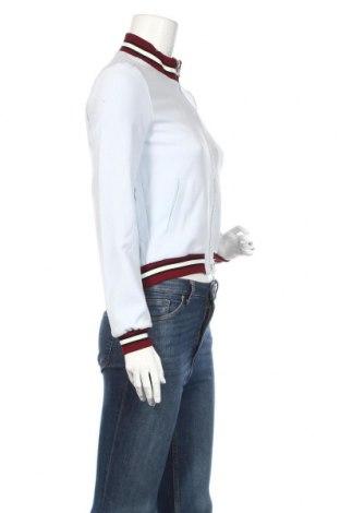 Дамско яке Set, Размер S, Цвят Син, 63% полиестер, 27% вискоза, 7% памук, 3% еластан, Цена 65,70лв.