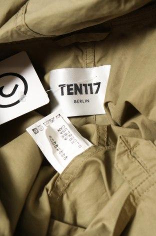 Дамско яке Ten117, Размер M, Цвят Зелен, Памук, Цена 28,80лв.
