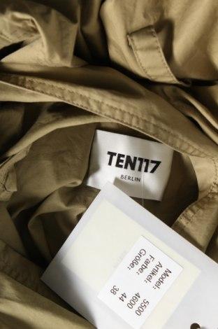 Дамско яке Ten117, Размер M, Цвят Зелен, Памук, Цена 30,40лв.
