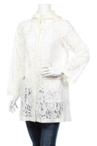 Дамско яке Vila, Размер M, Цвят Бял, 65% памук, 35% полиамид, Цена 43,22лв.