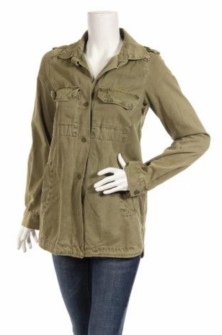 Dámska bunda  Zara Trafaluc, Veľkosť S, Farba Zelená, Bavlna, Cena  19,39€