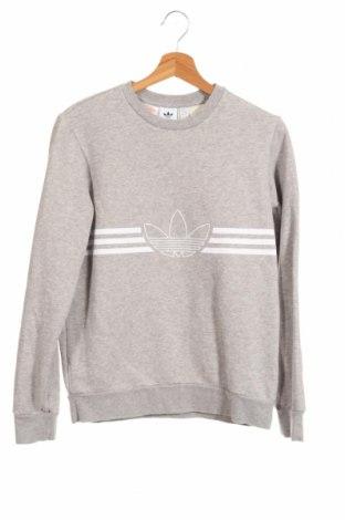 Bluză de copii Adidas Originals, Mărime 12-13y/ 158-164 cm, Culoare Gri, 77% bumbac, 23% poliester, Preț 98,52 Lei