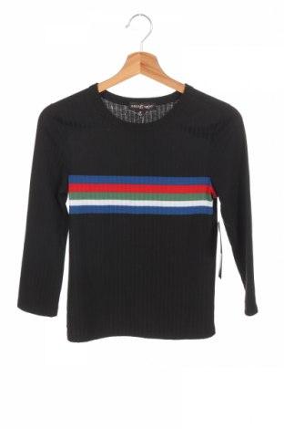 Детска блуза Almost Famous, Размер 10-11y/ 146-152 см, Цвят Черен, 68% полиестер, 27% вискоза, 5% еластан, Цена 29,30лв.