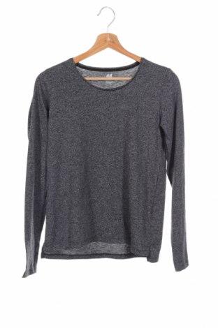Детска блуза H&M, Размер 14-15y/ 168-170 см, Цвят Черен, Цена 4,20лв.