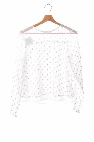 Детска блуза Here+There, Размер 12-13y/ 158-164 см, Цвят Бял, Полиестер, Цена 3,94лв.