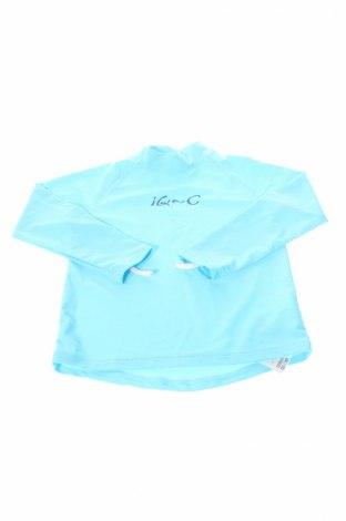Dziecięca bluzka IQ-UV, Rozmiar 6-7y/ 122-128 cm, Kolor Niebieski, 80% poliamid, 20% elastyna, Cena 70,30zł