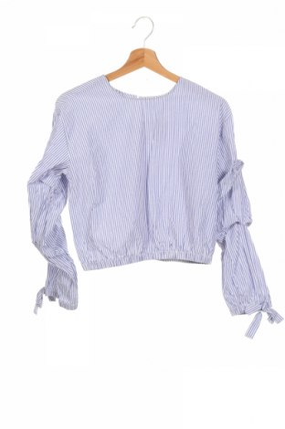 Детска блуза LCW, Размер 12-13y/ 158-164 см, Цвят Син, 60% памук, 40% полиестер, Цена 13,39лв.