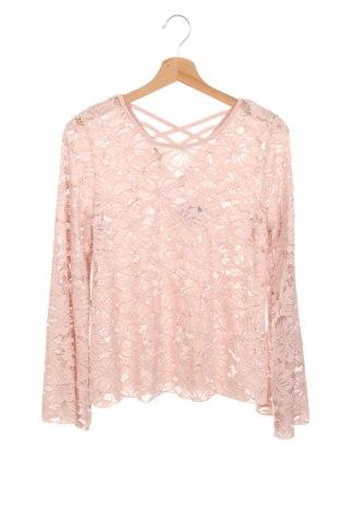 Детска блуза Lindex, Размер 12-13y/ 158-164 см, Цвят Розов, Цена 4,73лв.