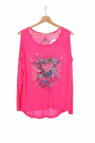 Детска блуза Okay, Размер 12-13y/ 158-164 см, Цвят Розов, Вискоза, Цена 4,20лв.