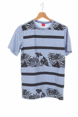 Детска блуза S.Oliver, Размер 13-14y/ 164-168 см, Цвят Син, 70% полиестер, 30% памук, Цена 24,82лв.