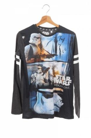Detská blúzka  Star Wars, Veľkosť 15-18y/ 170-176 cm, Farba Sivá, 55% bavlna, 45% polyester, Cena  8,89€