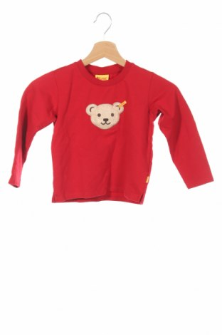 Παιδική μπλούζα Steiff, Μέγεθος 2-3y/ 98-104 εκ., Χρώμα Κόκκινο, 95% βαμβάκι, 5% ελαστάνη, Τιμή 10,39€