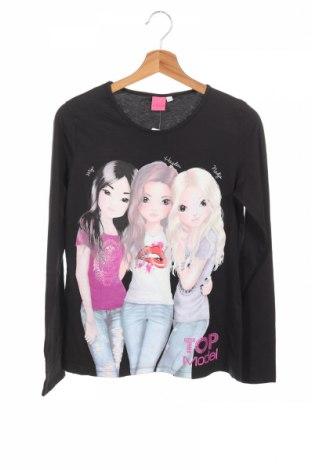 Детска блуза Top Model, Размер 15-18y/ 170-176 см, Цвят Черен, Памук, Цена 8,51лв.