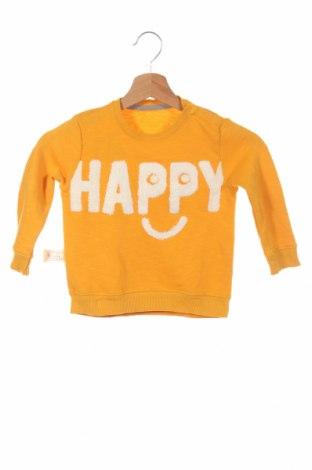 Bluză de copii Zara, Mărime 18-24m/ 86-98 cm, Culoare Galben, 81% bumbac, 19% poliester, Preț 39,68 Lei