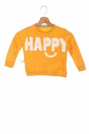 Bluză de copii Zara, Mărime 18-24m/ 86-98 cm, Culoare Galben, 81% bumbac, 19% poliester, Preț 68,21 Lei