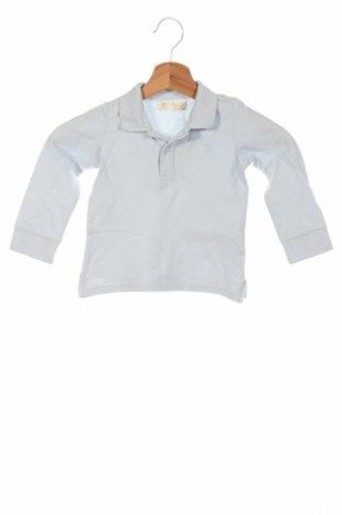 Bluză de copii Zara, Mărime 18-24m/ 86-98 cm, Culoare Albastru, Bumbac, Preț 47,37 Lei