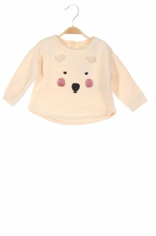 Bluză de copii Zara, Mărime 9-12m/ 74-80 cm, Culoare Bej, Poliester, Preț 41,68 Lei