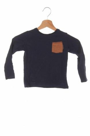 Bluză de copii Zara, Mărime 2-3y/ 98-104 cm, Culoare Albastru, Bumbac, Preț 54,95 Lei
