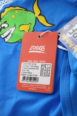 Детска блуза Zoggs, Размер 12-18m/ 80-86 см, Цвят Син, 80% полиамид, 20% еластан, Цена 31,50лв.