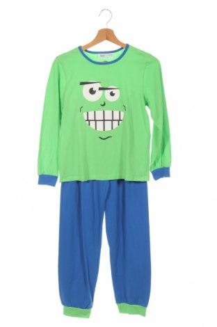 Детска пижама Bpc Bonprix Collection, Размер 9-10y/ 140-146 см, Цвят Зелен, 95% памук, 5% еластан, Цена 34,00лв.