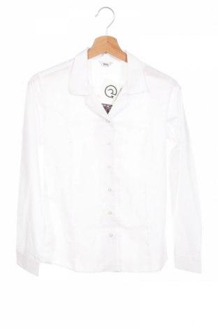 Dětská košile  Bhs, Rozměr 13-14y/ 164-168 cm, Barva Bílá, 65% polyester, 35% bavlna, Cena  328,00Kč