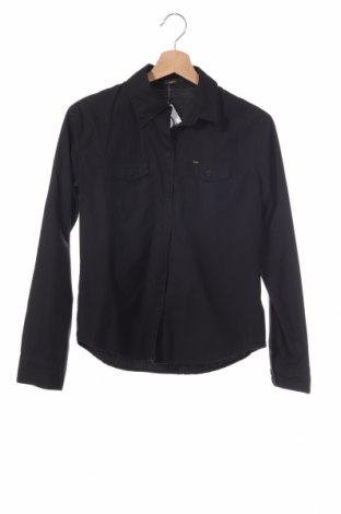 Παιδικό πουκάμισο Lee, Μέγεθος 11-12y/ 152-158 εκ., Χρώμα Μαύρο, Βαμβάκι, Τιμή 13,37€