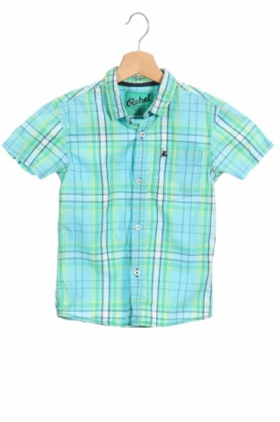 Детска риза Rebel, Размер 7-8y/ 128-134 см, Цвят Многоцветен, Памук, Цена 22,00лв.