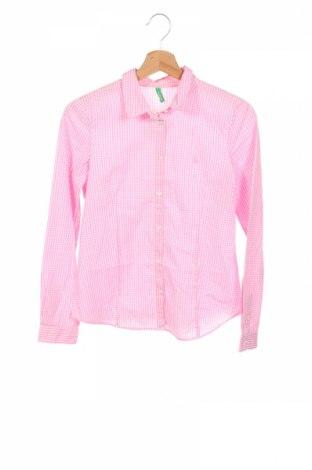 Dětská košile  United Colors Of Benetton, Rozměr 12-13y/ 158-164 cm, Barva Růžová, Bavlna, Cena  328,00Kč
