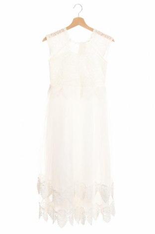 Dětské šaty , Rozměr 12-13y/ 158-164 cm, Barva Bílá, 65% polyester, 35% viskóza, Cena  594,00Kč