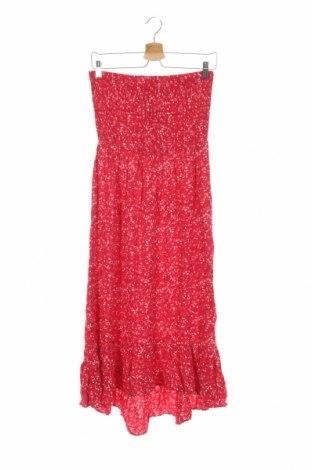 Детска рокля Charles Vogele, Размер 12-13y/ 158-164 см, Цвят Розов, Вискоза, Цена 25,52лв.
