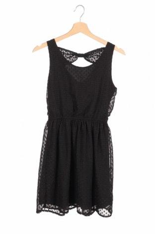 Detské šaty  H&M, Veľkosť 12-13y/ 158-164 cm, Farba Čierna, Polyester, Cena  11,91€