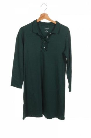 Dětské šaty  Lands' End, Rozměr 14-15y/ 168-170 cm, Barva Zelená, Bavlna, Cena  391,00Kč