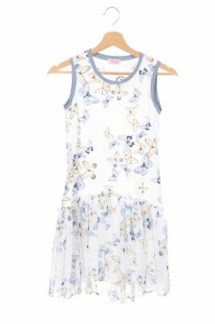 Detské šaty  Monnalisa, Veľkosť 11-12y/ 152-158 cm, Farba Biela, 90% bavlna, 10% elastan, Cena  21,55€