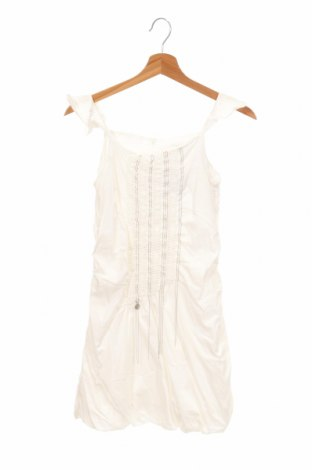 Детска рокля Patrizia Pepe, Размер 14-15y/ 168-170 см, Цвят Бял, Цена 55,58лв.