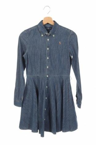 Detské šaty  Ralph Lauren, Veľkosť 14-15y/ 168-170 cm, Farba Modrá, Bavlna, Cena  24,95€