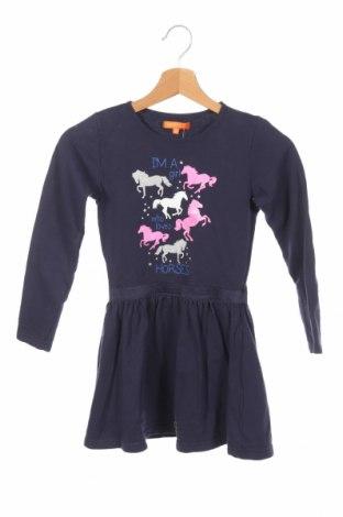 Detské šaty  Staccato, Veľkosť 5-6y/ 116-122 cm, Farba Modrá, Bavlna, Cena  15,80€