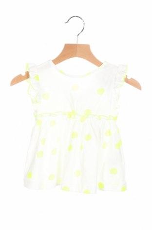 Rochie de copii Zara, Mărime 12-18m/ 80-86 cm, Culoare Alb, 100% bumbac, Preț 94,74 Lei