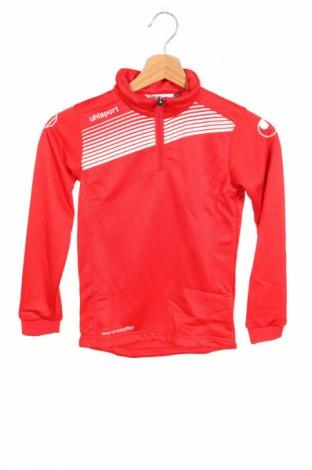 Детска спортна блуза Uhlsport, Размер 6-7y/ 122-128 см, Цвят Червен, Полиестер, Цена 27,00лв.