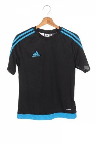 Детска тениска Adidas, Размер 13-14y/ 164-168 см, Цвят Черен, Полиестер, Цена 23,04лв.