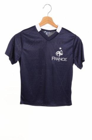 Детска тениска FFF France, Размер 7-8y/ 128-134 см, Цвят Син, Полиестер, Цена 15,95лв.
